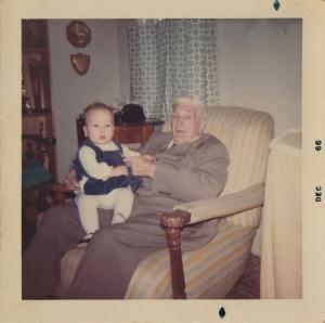 Grandpa Hempy and my second cousin