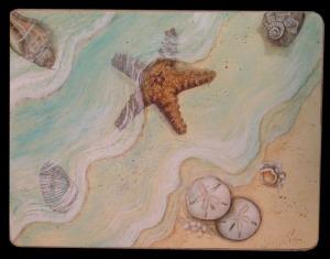 Starfish Washing Ashore